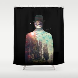 Intrinsic Elements Shower Curtain