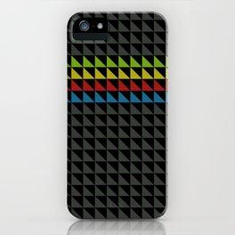 Four Tone Triangles iPhone Case