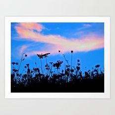 Dancing Under a Blue Sky Art Print