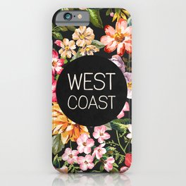 West Coast iPhone Case