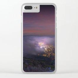 Magic Fireworks Clear iPhone Case
