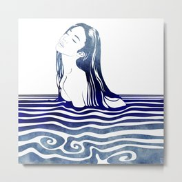 Water Nymph VIII Metal Print