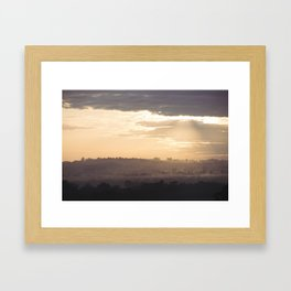 Hunter Valley Framed Art Print