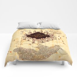 Marauders Map Comforters