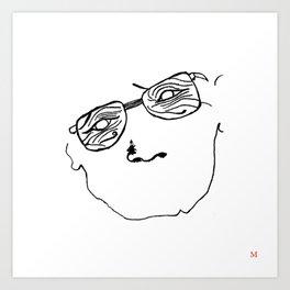 wrinkle  Art Print