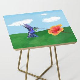 The very hungry hummingbird Side Table