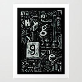 """""""HYGGE"""" Art Print"""