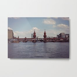 Berlin-Oberbaum Bridge Metal Print