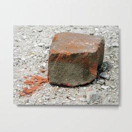 Crushed Metal Print