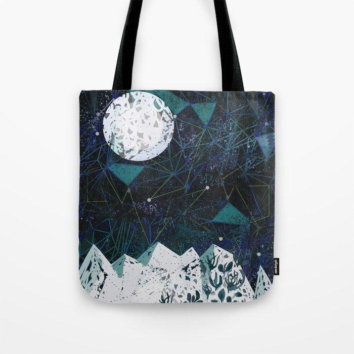 winter geometry Tote Bag