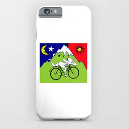 Lsd Bicycle iPhone Case