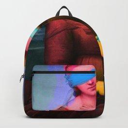 Raphael Classical Painting Remix Pop Art Backpack