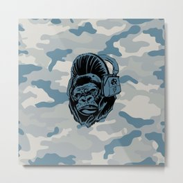 Gorilla with an Attitude Metal Print