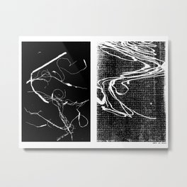 Busted Spaghetti Metal Print