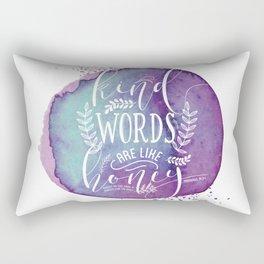 PROVERBS 16:24 Rectangular Pillow