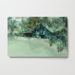 Barn Plethora Metal Print