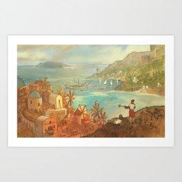 Provincial Polynesia Art Print