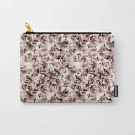 Sweet Pea Petals Photographic Pattern Carry-All Pouch