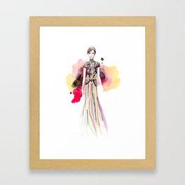 Marchesa Fall Framed Art Print