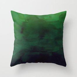Watercolor (Witch's Blood) Throw Pillow