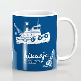 Hinaaja (Finland) Gay Slang Collection. White. Coffee Mug