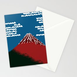 RED FUJI Stationery Cards