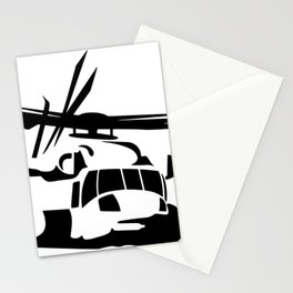 H-53/CH-53 Military Helicopter Stationery Cards