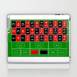 Roulette Table Laptop & iPad Skin