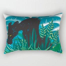 Black panter Rectangular Pillow