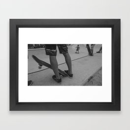 Skateboard 3 Framed Art Print