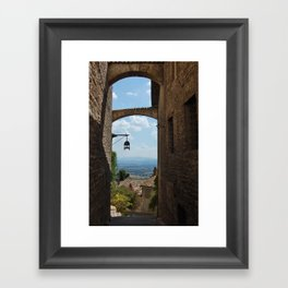 portals .:. assisi Framed Art Print