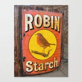 Robin Starch Canvas Print