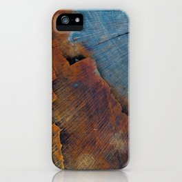 Colored Wood iPhone Case