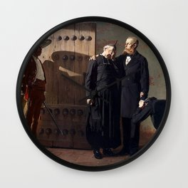 Jean-Paul Laurens - Emperor Maximilian of the Mexico before the Execution Wall Clock