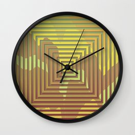 TOPOGRAPHY 2017-018 Wall Clock