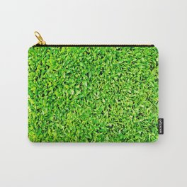 Texture of grass Carry-All Pouch
