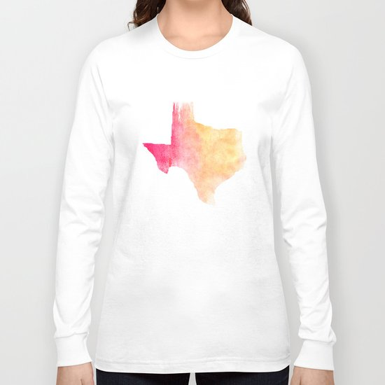 TEXAS IS THE REASON Long Sleeve T-shirt