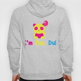 I'm Pan Duh Panda - Pansexual designs - Omnisexual prints product Hoody