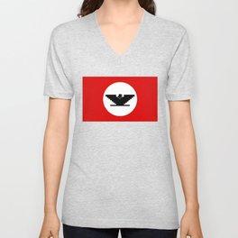 United Farm Workers UFW Huelga Bird Chicano Unisex V-Neck