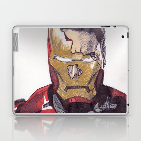 Iron Mann Laptop & iPad Skin
