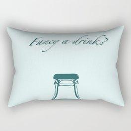 Fancy a drink? Rectangular Pillow