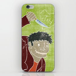 Hyde is in the air iPhone Skin