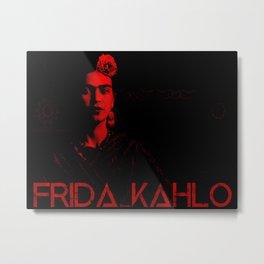 Frida Kahlo (Ver 5) Metal Print