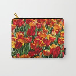 Field of Spring Tulips Carry-All Pouch
