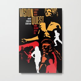 80s TEEN MOVIES :: VISION QUEST Metal Print