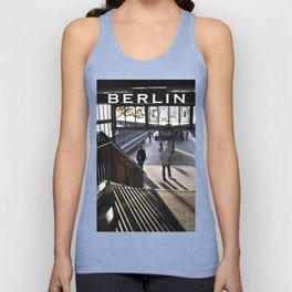 suburban railway station - Berlin Unisex Tank Top