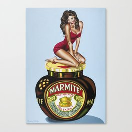 Marmite, But I Will Canvas Print