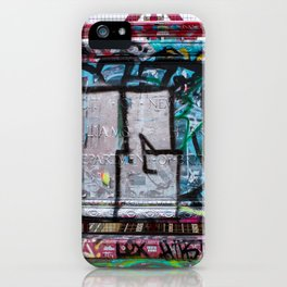 Making Your Mark on the Williamsburg Bridge iPhone Case