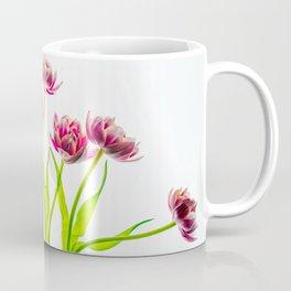 Seven Pink Tulips Coffee Mug