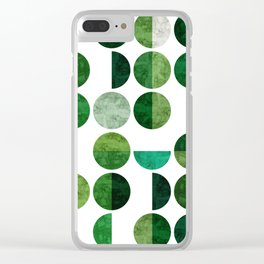 Minimalist pattern I Clear iPhone Case